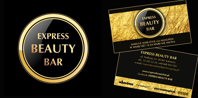 logo express beauty bar